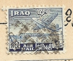 Sellos del Mundo : Asia : Irak : Avión