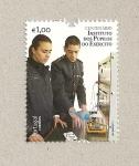Sellos de Europa - Portugal -  100 aniv Instituto de alumnos del ejército