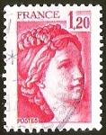 Sellos de Europa - Francia -  LAS SABINAS DE DAVID