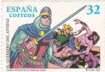 Sellos de Europa - España -  el guerrero del antifaz