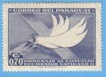 Sellos de America - Paraguay -  Homenaje al Concilio Ecumenico Vaticano II