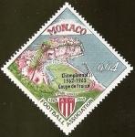 Sellos del Mundo : Europa : Mónaco : CHAMPIONNAT 1962 - 1963 COUPE DE FRANCE