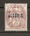 Sellos del Mundo : Europa : Argelia : Algeria - Departamentos Franceses.