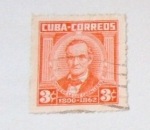 Sellos del Mundo : America : Cuba : JOSE DE LA LUZ CABALLERO 1800-1862