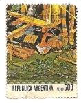 Sellos de America - Argentina -  Establo