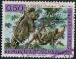 Sellos de America - Venezuela -  FAUNA SALVAJE. PEREZOSO (BRADYPUS TRIDACTILUS). Y&T Nº A-780