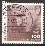 Sellos de Europa - Alemania -  Centenario de la muerte de Anton Bruckner.compositor y organista austriaco.