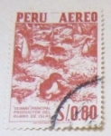 Sellos del Mundo : America : Perú : GUANAY PRINCIPAL PRODUCTOR DEL GUANO DE ISLAS