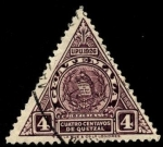 Sellos de America - Guatemala -  Armas, UPU 1926.