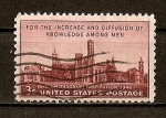 Sellos de America - Estados Unidos -  Centenario de la Institucion Smithsonian.