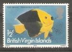 Sellos del Mundo : America : Islas_Virgenes : HOLACANTHUS   TRICOLOR