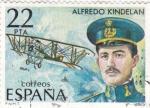 Sellos de Europa - España -  Alfredo Kindelan -Fundador del Ejército del aire    (A)