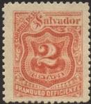 Sellos del Mundo : America : El_Salvador : Timbre impuesto 1896.
