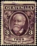 Sellos del Mundo : America : Guatemala : Dr. Lorenzo Montufar.  UPU 1926.