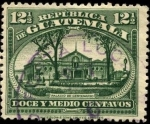 Sellos del Mundo : America : Guatemala : Palacio Centenario de la Independencia.
