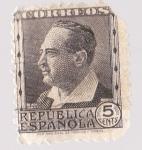 Sellos del Mundo : Europa : España : República Española - Vicente Blasco Ibañez