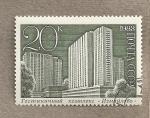 Sellos de Europa - Rusia -  Rascacielos