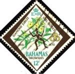 Sellos del Mundo : America : Bahamas : Jubileo de diamante de la asociación de muchachas guías.