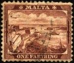 Sellos del Mundo : Europa : Malta : Puerto de la Valette.