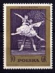 Sellos del Mundo : Europa : Polonia : Escena de Ballet