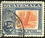 Sellos del Mundo : America : Guatemala : Monolito de Quirigua. UPU 1921