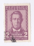Sellos del Mundo : America : Argentina : Republica Argentina - Esteban  Echeverria