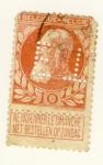 Sellos de Europa - Bélgica -  Rey Leopoldo II Ed 1884