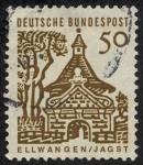 Sellos del Mundo : Europa : Alemania : Edificios y monumentos