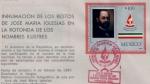 Sellos del Mundo : America : México : Mexico Jose Maria Iglesias marcofilia 87'
