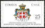 Sellos de America - Chile -  SOBERANA ORDEN MILITAR DE MALTA