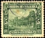 Sellos del Mundo : America : Costa_Rica : Edificio correos y telégrafos. UPU 1929.