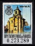 Sellos del Mundo : Europa : España : Diputación foral de Navarra. serie A.