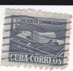 Sellos de America - Cuba -  Palacio de comunicaciones