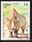 Sellos del Mundo : America : Cuba :  Rinoceronte