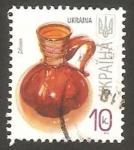 Sellos de Europa - Ucrania -  II - Jarra