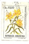 Sellos de America - Argentina -  Amancay