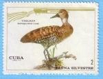 Sellos de America - Cuba -  Fauna Silvestre - Yaguaza