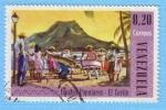 Sellos de America - Venezuela -  Danzas Populares - El Carite