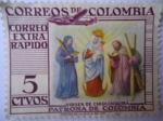 Sellos del Mundo : America : Colombia : Virgen de Chiquinquirá Patrona de Colombia