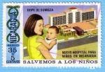 Sellos de America - Nicaragua -  Salvemos a los Niños