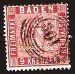 Sellos del Mundo : Europa : Alemania : Clásicos - Baden