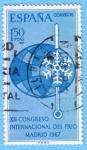 Sellos de Europa - España -  XII Congreso Internacional del frío