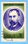 Sellos de Europa - Rumania -  Aniversari Culturale
