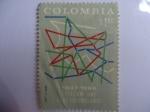 Sellos de America - Colombia -  Telecom une a los colombianos- 20° Aniversario 1947al1968