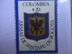 Sellos de America - Colombia -  Escudo de Armas de Santa Fé de Bogotá.