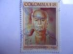 Sellos de America - Colombia -  Eduardo Carranza Fernández (1913-1985) - Poeta colombiano.
