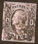 Sellos de Europa - Alemania -  Clásicos - Sachsen