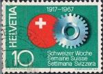 Sellos de Europa - Suiza -  CINCUENTENARIO DE LA SEMANA SUIZA. Y&T Nº 791