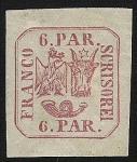 Sellos de Europa - Rumania -  Coat of Arms-Moldavia-Walachia-Rumania