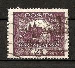 Sellos del Mundo : Europa : Checoslovaquia : Castillo de Praga./ Republica.